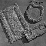 Crochet Bathroom Accessories Vintage Patterns
