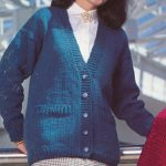 V-Neck Cardigan Knitting ePattern