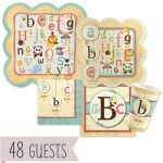A is for Alphabet – Baby Shower Theme
