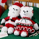 Mr. & Mrs. Santa Bear Crochet Patterns ePattern