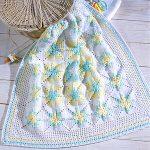 Dreamy Squares Baby Afghan Crochet ePattern