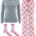 Women's Lightweight Owl Flannel Pajamas