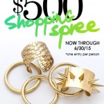 Ready to win a $500 Jewelry Shopping Spree? Enter to win the sweepstakes