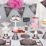 New Birthday Sweets Chalkboard Party Theme