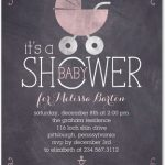 Chalkboard Baby Shower Ideas and Invitations