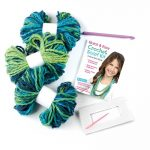 An Easy Way to Crochet a Scarf Quick and Easy Crochet Scarf Kit