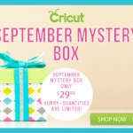 See What's Inside the September Cricut Mystery Box