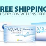 How to Receive Free Shipping on Glasses and Contacts