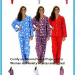 Warm Women's Flannel Winter Pajamas Review and Giveaway
