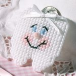 Make a Tooth Fairy Pouch Plastic Canvas Pattern to Hold a Tooth and Money