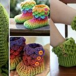 Crocodile Stitch Booties Learn to Crochet Crocodile Stitch Patterns