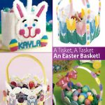 Easter Baskets to Make in Plastic Canvas