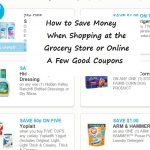 Easy Ways to Save Money Grocery Shopping and Shopping Online