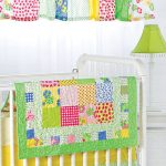 Beautiful New Quilt Pattern Bright and Charming Nursery Set