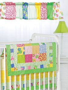Quilting and decorating a baby room