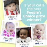 How to Win $250 with a Cute Photo of Your Kid