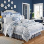 Bedding Styles for Summer Decorate in Blues and Whites