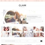 WordPress Theme of the Month: Glam Pro