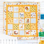 Learn How to Make a Wild Animal Safari Kids Quilt