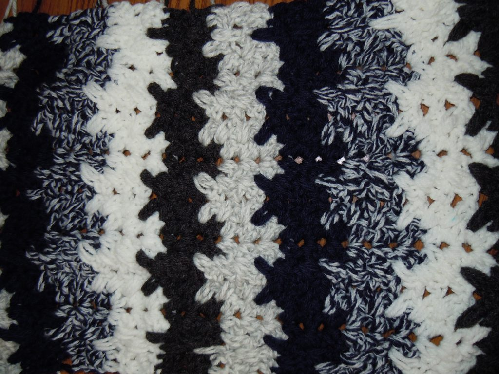 Breaking Amish Mary S Crochet Afghan Pattern Ripple