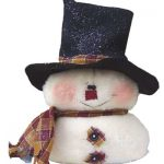 Easy to Sew Snowman Sewing Pattern for Winter