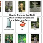How to Create a Relaxing Oasis with a Garden Fountain