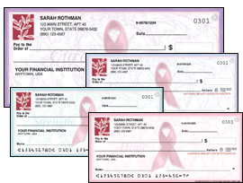 Pink Ribbon Checks