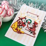 Cricut Project Ideas How to Make a Disney Holiday Christmas Card