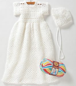 Crochet Christening Gown Pattern