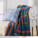 Easy Skill Crochet Afghans How to Make Afghans in One Square