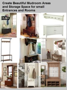 Create a small storage same for your mudroom