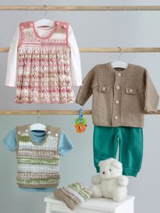 Kids Knitting Patterns Knit a Jacket, Dress, Tank & Hat Knit Pattern