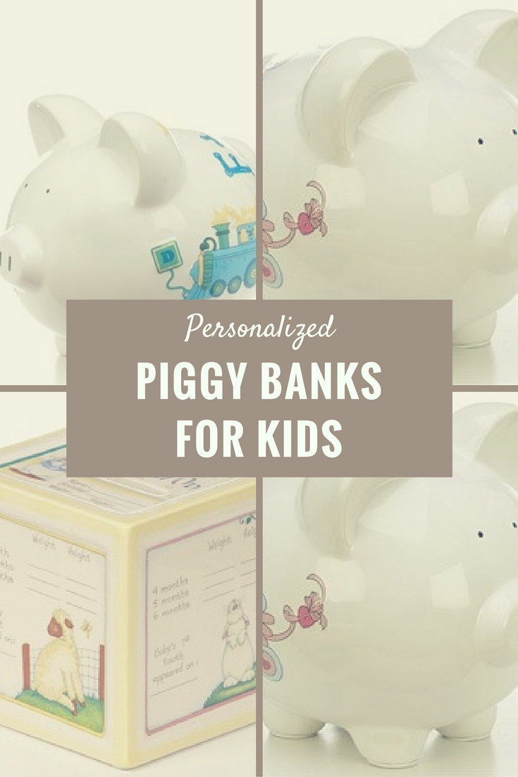 Personalized Piggy Banks for Kids