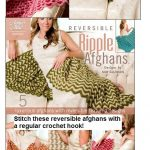 Reversible Ripple Afghans Crochet Patterns with a Regular Crochet Hook