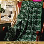 Crochet Green Afghan Pattern for March