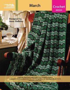 #crochetafghans, Green Crochet Afghan Pattern