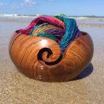 WoodenYarn Bowl: Best Handmade Wooden Yarn Bowls