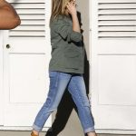 Jennifer Aniston Wearing the Shoe of the Summer