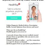 Talk to a Doctor Online: Virtual Doctor Visit