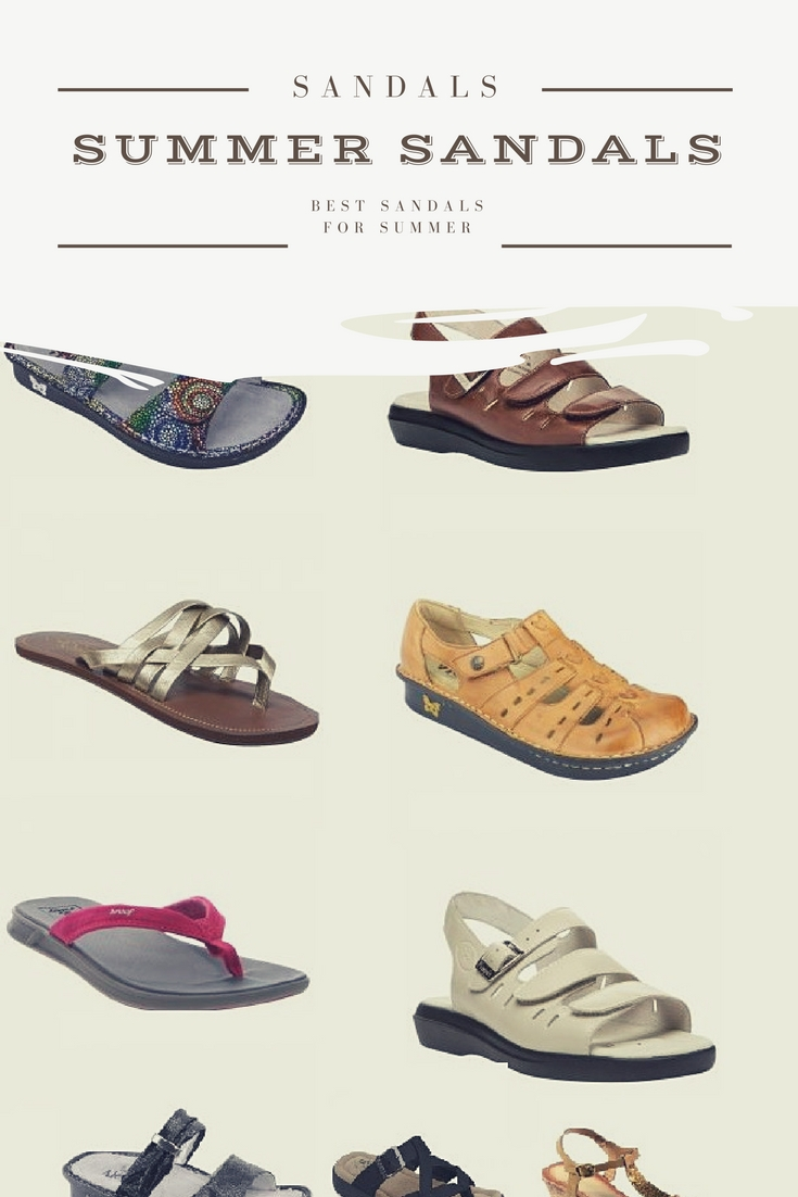 Comfortable Sandals for Women to Wear