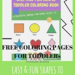Free Coloring Pages from the Easy and Fun Shapes Toddler Coloring Book