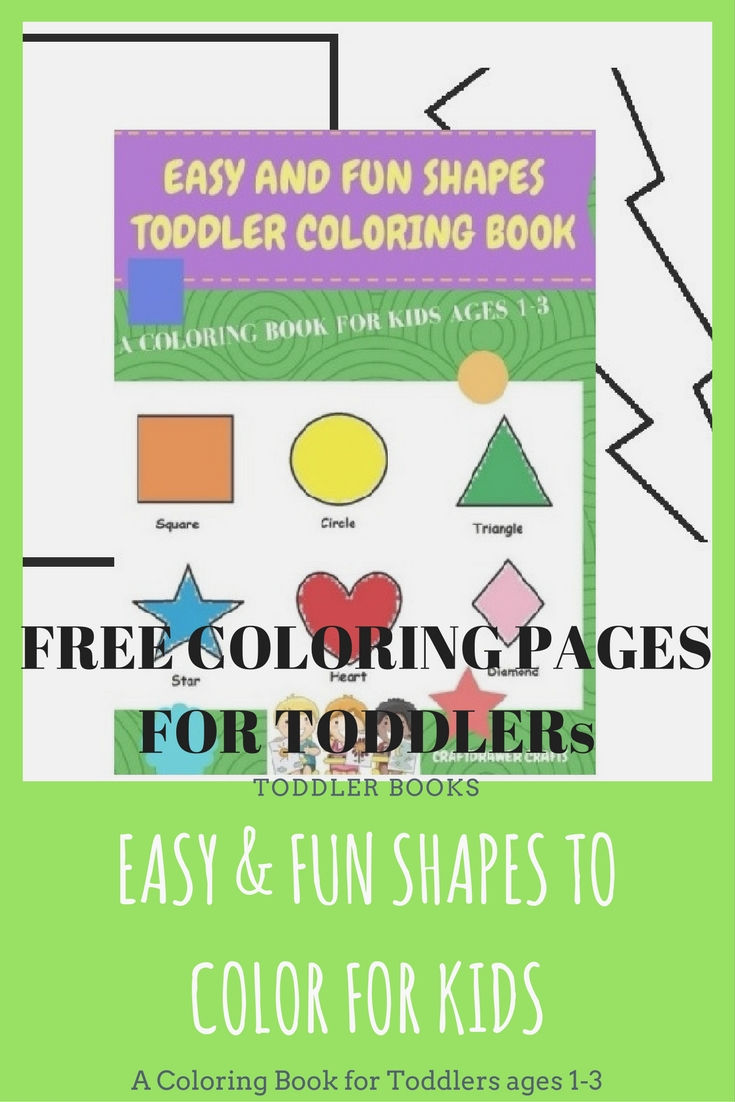 Free Easy Toddler Coloring Pages