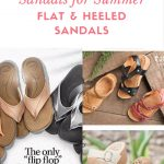 Best Sandals for Summer Flat and Heeled Sandals