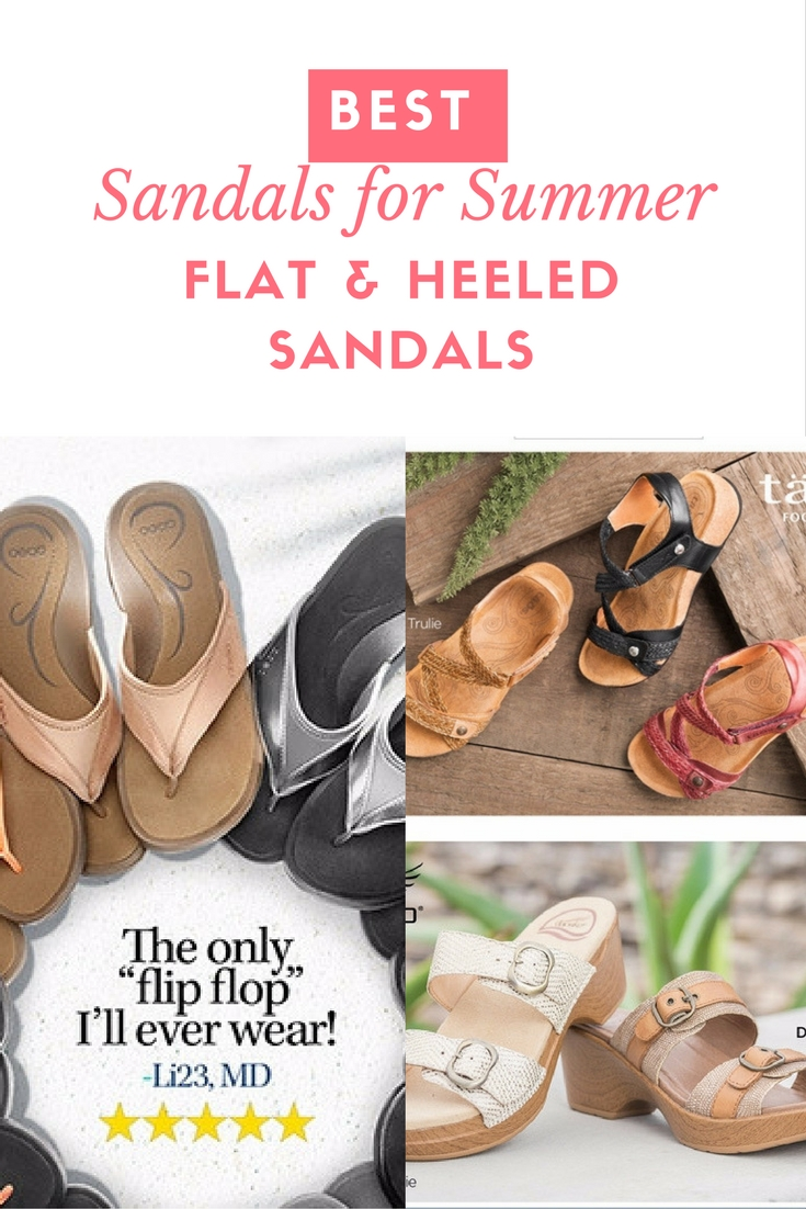 Sandals for Summer Flat and Heeled Sandals