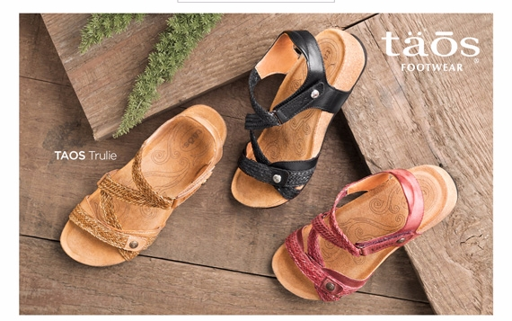 Taos Summer Sandals for Comfort and Walking