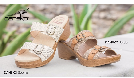 Dansko Summer Sandals in a Variety of Styles and Colors