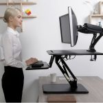 Compact Series Sit-Stand Desktop Risers for Small Work Spaces | FlexiSpot