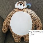 Tiny Headed Kingdom The Perfect Plush Animal for Animal Lovers Review of Twist Tiger