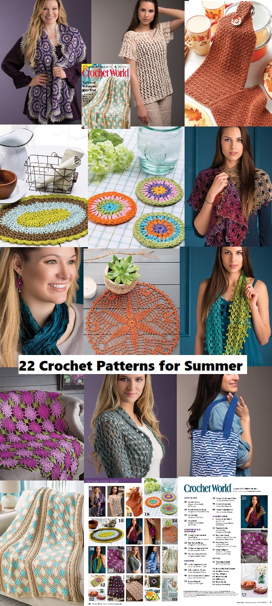 crochet patterns for summer