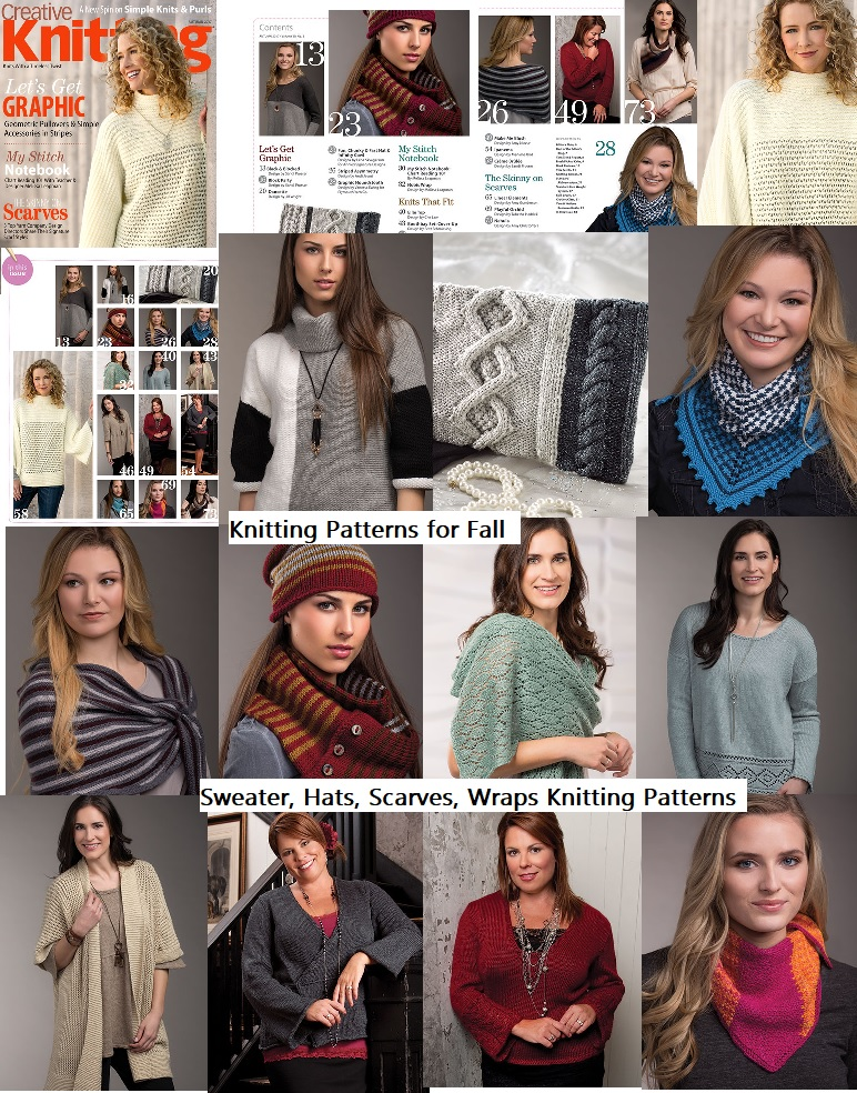 Knitting Patterns for Fall